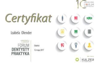 Izabela Olender IMED forum dentysta praktyk