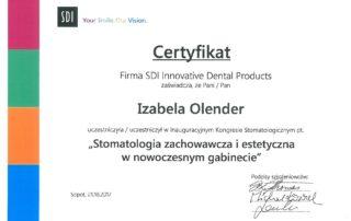 Izabela Olender IMED stomatologia zachowawcza i estetyczna